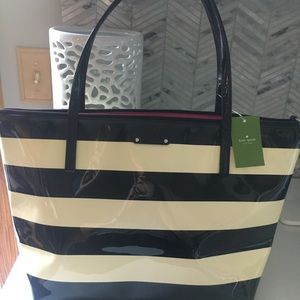 Kate Spade Sophie patent leather tote Penn Valley